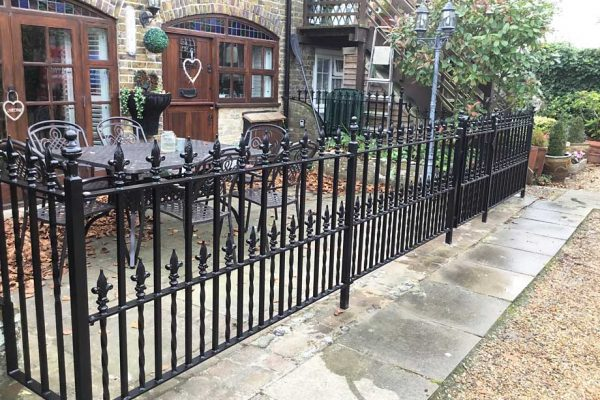 Restoring old period railings