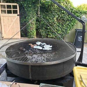 metal barbeque